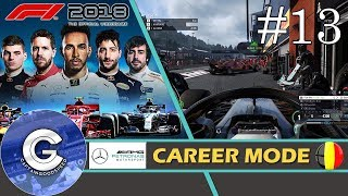 Let's Play F1 2018 Career Mode   Mercedes Career #13   JENSON BUTTON ESQUE?