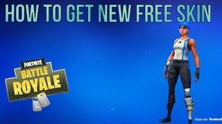 HOW TO GET NEW FREE SKIN l BLUE TEAM LEADER (Fortnite Battle Royale)