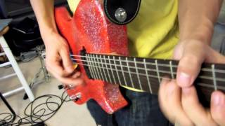 Plug in Baby [Muse HD Guitar Cover] - Manson Red Glitter/Glitterati Replica