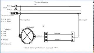Como se instalar um interruptor paralelo-Passo a Passo 1