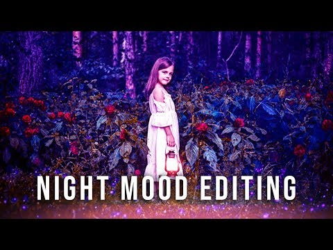 Night Mood Photo Editing Photoshop | New Photoshop Editing Tutorial | NISHAD EDITZ | thumbnail