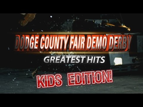Power Wheels Kids Demolition Derby   2016 Dodge County Fair Beaver Dam WI