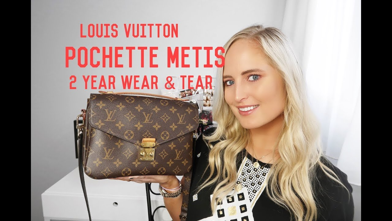 78eaf155e8a3 Louis Vuitton Pochette Metis [2 years review] | Chloe James - YouTube