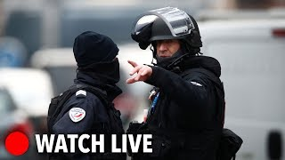 French Special Forces surround building in manhunt for Strasbourg shooter LIVE