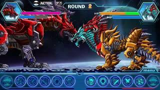 Super Transformer Robot Dinosaur Build and Fight Gameplay HD Part  11