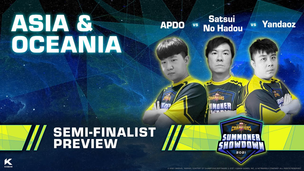 Summoner Showdown Semi-Finalist Preview: Asia and Oceania | Marvel Contest of Champions