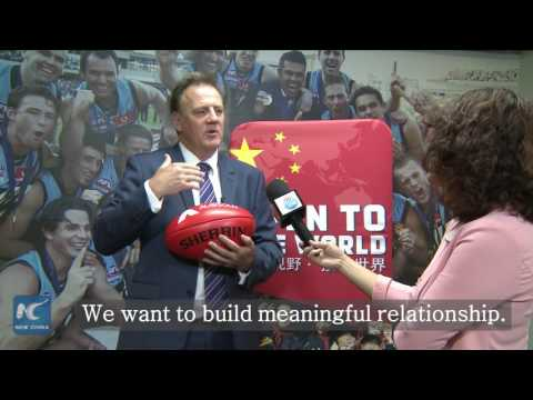 "Aussie football club ""builds bridge"" between China, Australia"