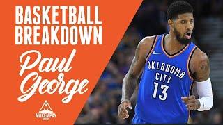 ecafe2460 Paul George Full Highlights 2019.03.22 Thunder vs Raptors - 28 Pts ...