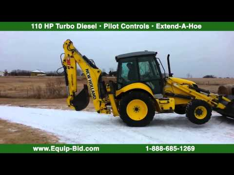 Equip-Bid Online Auctions - 2010 New Holland B110B Backhoe Online Auction