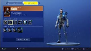 How To Edit and Style Your Omega and Carbide Skins Fortnite Battle Royale