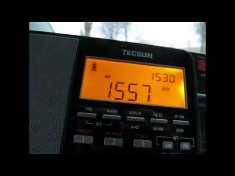 MW DX: Radio Taiwan International 1557 kHz received in Germany