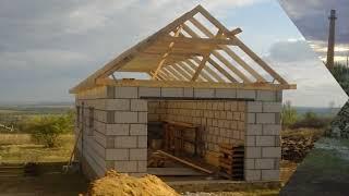 видео Строительство гаража