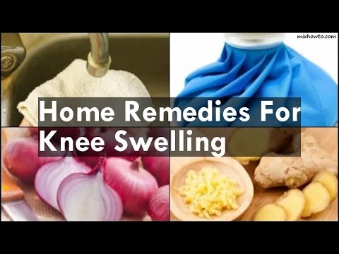 Fluid In Knee Home Remedy