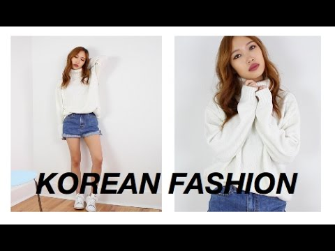 Korean Style Outfits Lookbook Youtube