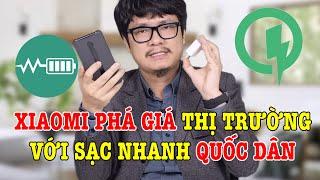 Xiaomi PHÁ GIÁ THỊ TRƯỜNG với SẠC NHANH không thể rẻ hơn !