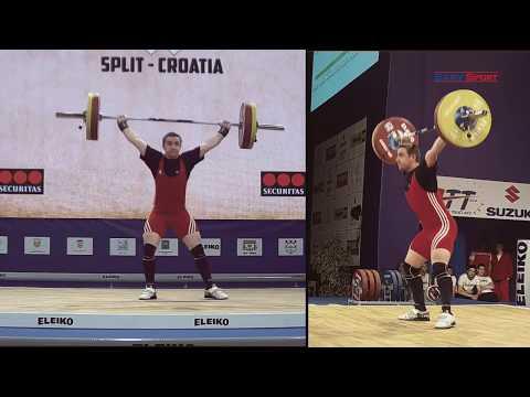 European Weightlifting Championships 2017 Men Senior 77 kg B