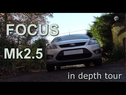 2010 Ford Focus Zetec  Mk2 facelift 5 door hatchback. in depth tour mk2.5