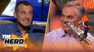 Doug Gottlieb ranks Deshaun Watson over Baker, talks Dak's payday and Aaron Rodgers | NFL | THE HERD