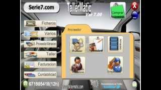 TallerMatic Software para gestion de talleres Mecanicos