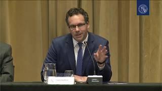 Conferencia de prensa del presidente del BCRA, Guido Sandleris