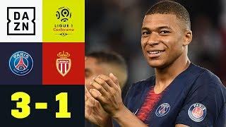 Erst Meister, dann Kylian Mbappe mit Dreierpack: Paris Saint-Germain - Monaco 3:1 | Ligue 1 | DAZN