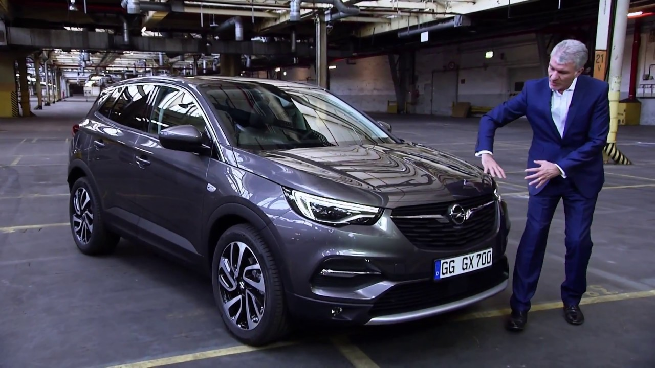 2018 opel grandland x design interior exterior compact suv car tv cargurus iaa 2017. Black Bedroom Furniture Sets. Home Design Ideas