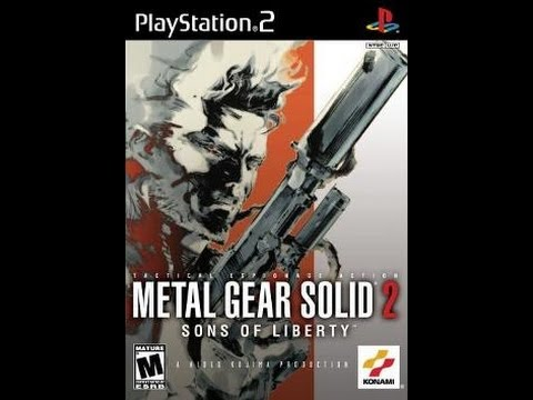 Metal Gear Solid 2: Sons of Liberty (HD Collection) Cutscene