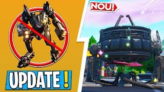 * NEW * Fortnite UPDATE | CHANGES for B.R.U.T. E, the RIFT is in MEGA MALL, MANY SECRETS!