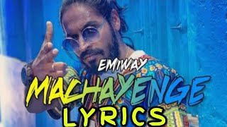 Machayenge full lyrics song!!!  Emiway bantai || HP ZONE ✓