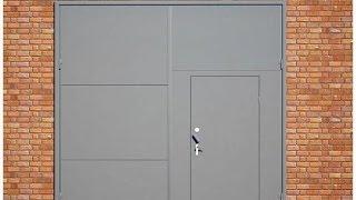 Как сделать ворота в гараж