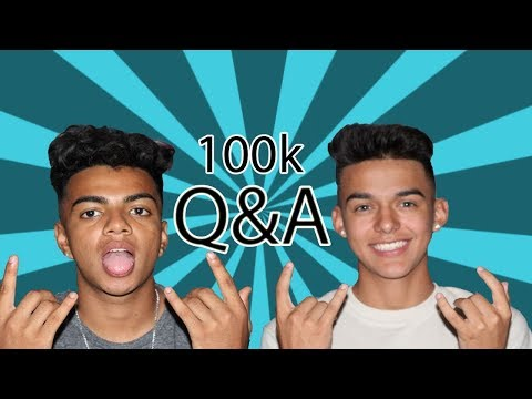 WOULD WE DATE A FAN?!?! // 100th VIDEO Q&A