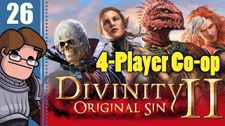 Let's Play Divinity: Original Sin 2 Four Player Co-op Part 26 - Magister Loke