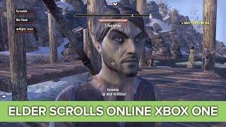 The Elder Scrolls Online Xbox One Co-op Gameplay - Andy's Dark Elf is Exactly Andy