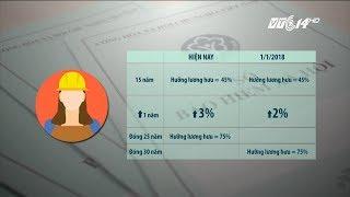 VTC14 | Đề xuất lùi thời gian thực hiện cách tính lương hưu mới đến năm 2022