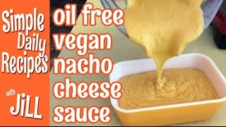 Vegan Nacho Cheese Sauce Made With Potatoes And Carrots - Oil Free