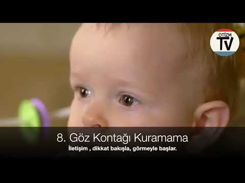 60 Saniye : Otizmin Bebek ve Çocuklukta Mutlaka Dikkat Edilmesi Gereken 10 Belirtisi  Bölüm 2