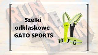 Gato Sport szelki odblaskowe z panelami LED - omówienie i recenzja produktu.