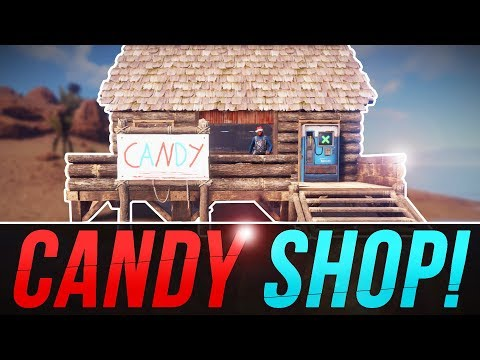 Setting up a CANDY SHOP | Rust Solo Survival #3