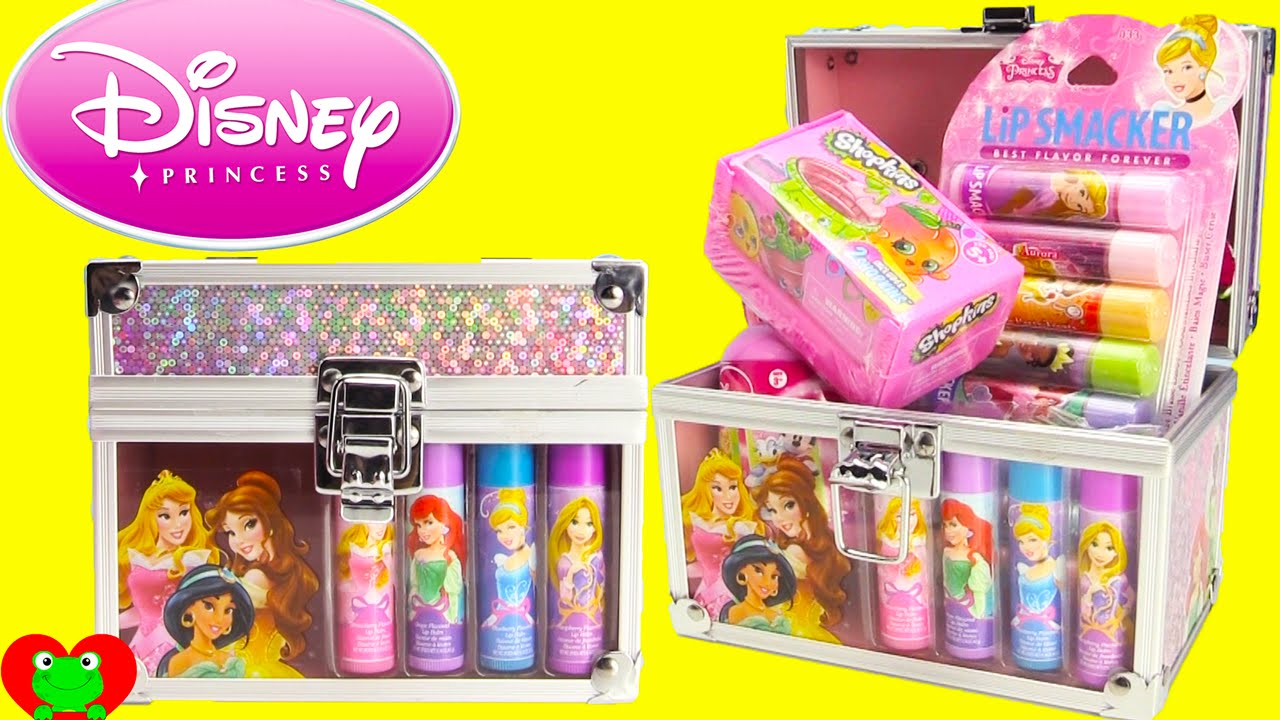 Disney Princess Lip Smackers And Shopkins