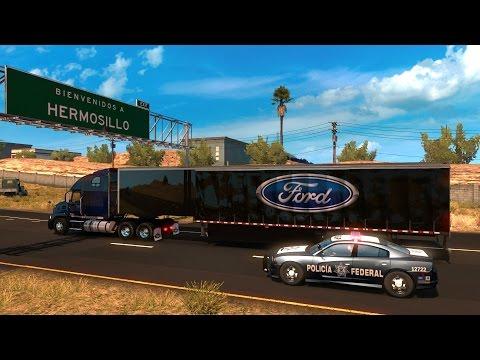 Mack Pinnacle | De Phoenix, Arizona a Hermosillo, Sonora, México | American Truck Simulator