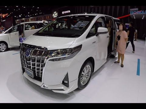 New Luxury VAN 2018 Toyota ALPHARD Hybrid 2019