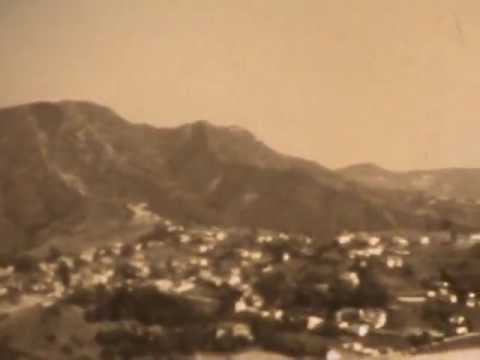 8mm home movies: Burbank, CA (?) 1940s, RC airplanes