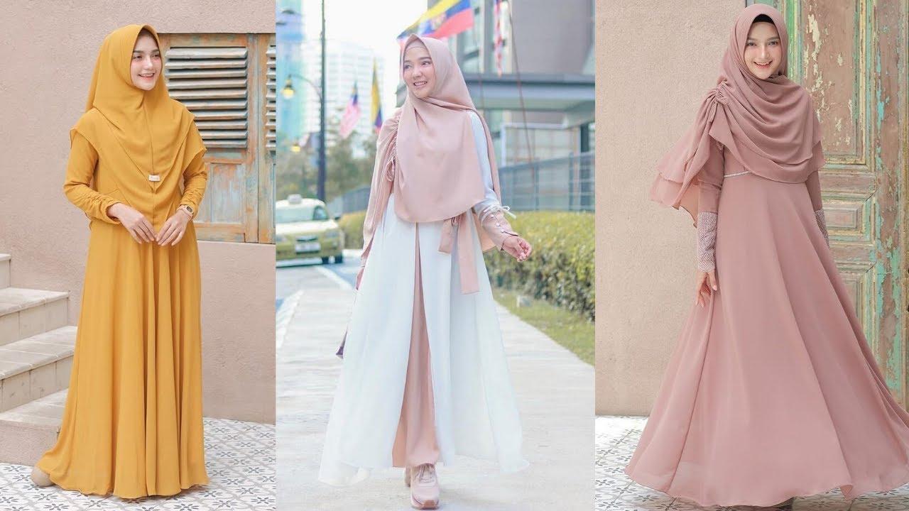 Trend Busana Muslim 9! Inilah 9 Model Baju Gamis Terbaru 9 Untuk  Remaja Masa Kini