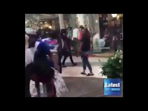 60 teenage girls brawl in Florida mall