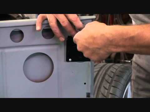 How To Install A Model A Ford Roadster Inside Door Handle