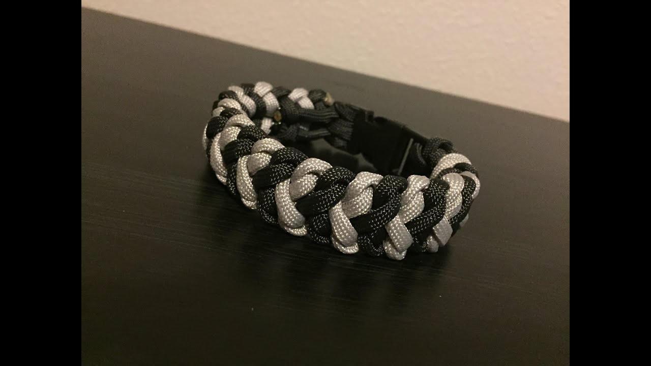 quot snake belly bar quot paracord bracelet