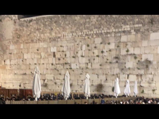 PESACH at the KOTEL, JERUSALEM!!!