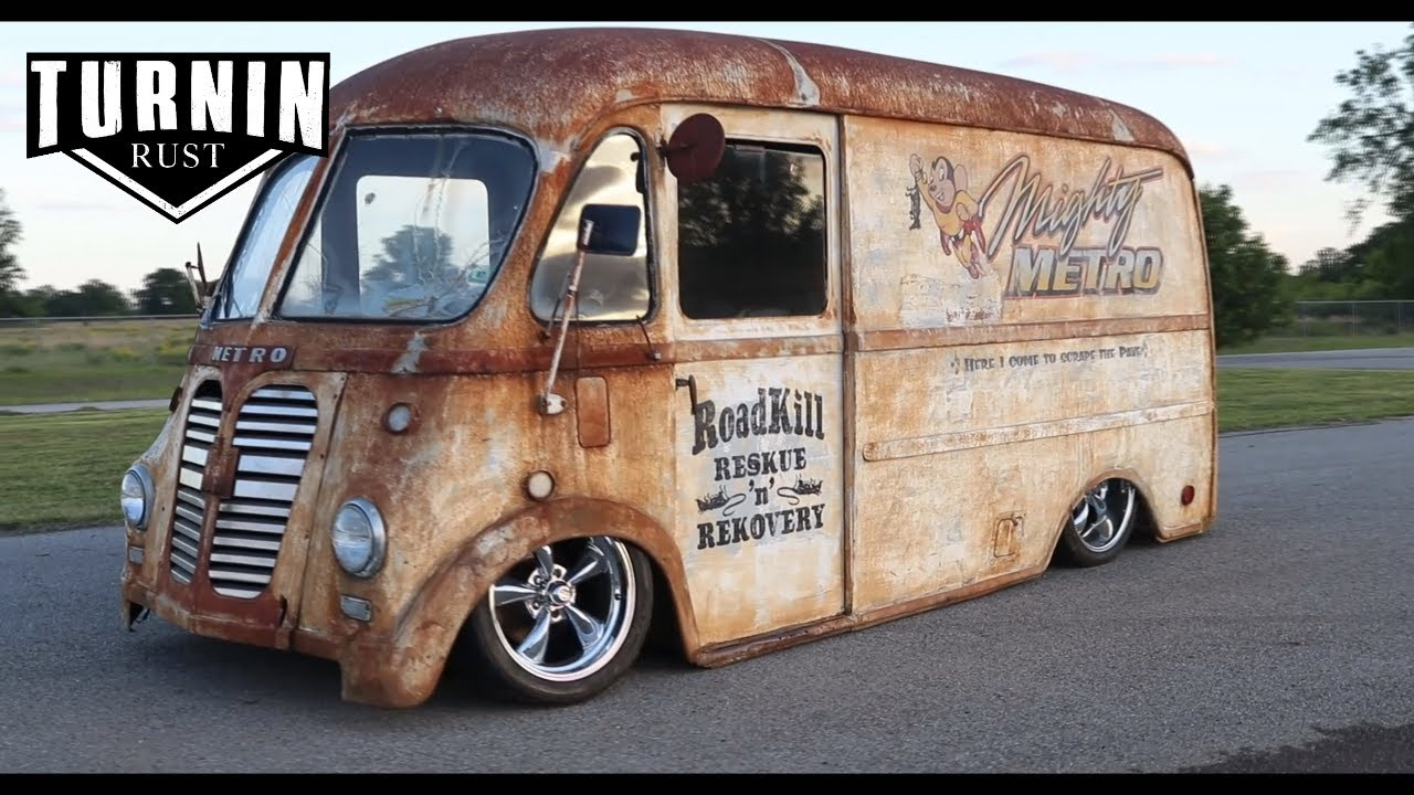 Mighty Metro ~ 1954 International Metro Van Build