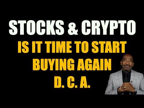 STOCKS & CRYPTO I'M BUYING | Dollar Cost Averaging