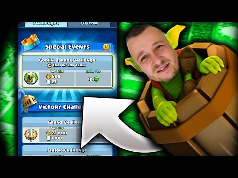 GRAMY GOBLIN BARREL CHALLENGE! CLASH ROYALE POLSKA